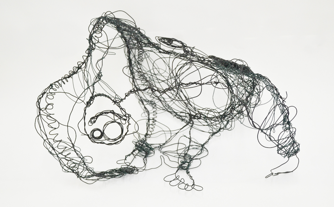 Dafni Bampanioti, Utititled, Wire Sculpture, 2014 feature
