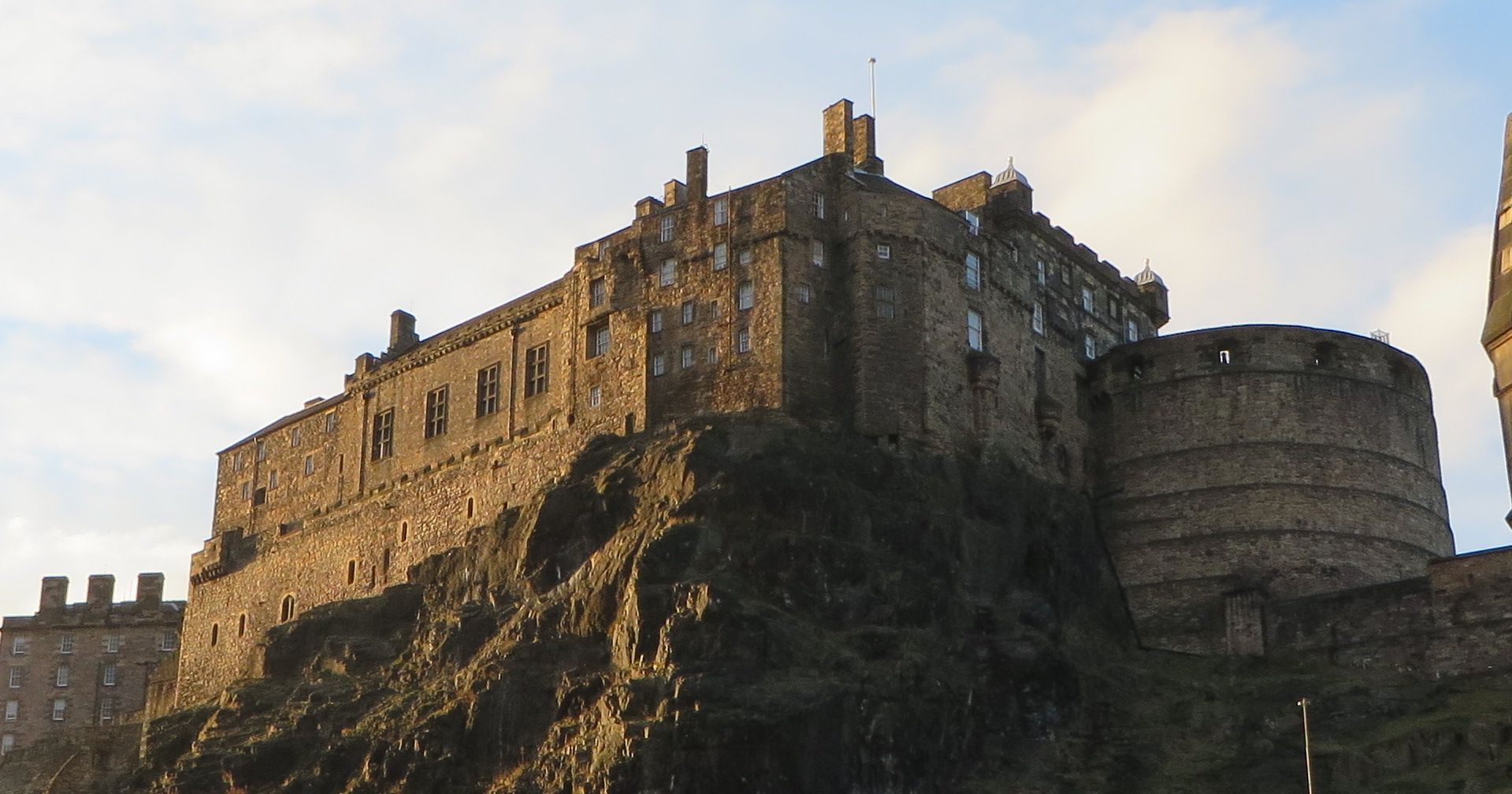 WITP will partner with the Scottish Arts Club in Edinburgh, Scotland, for a month-long exhibition. Pictured is Edinburgh Castle.